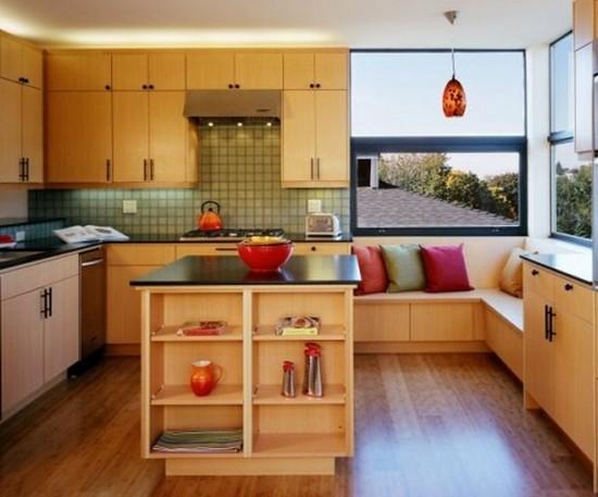 Cozinha Moderna estilo Madeira