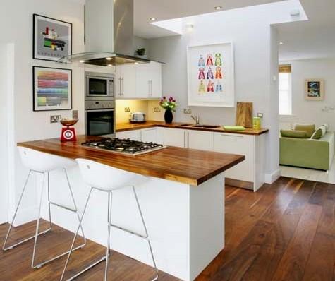 106 fotos de cozinhas modernas e elegantes for Cocinas pequenas decoradas modernas