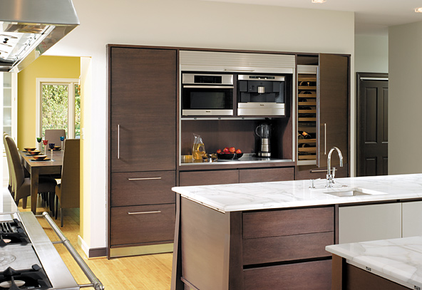 Cozinha Moderna Marron