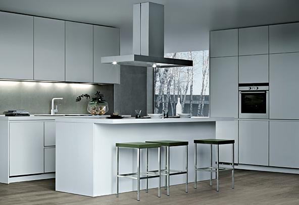Cozinha Moderna estilo aço