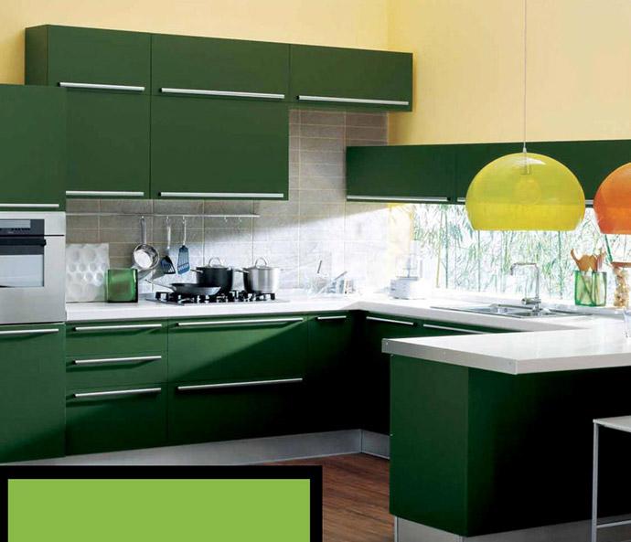 Cozinha Moderna Verde