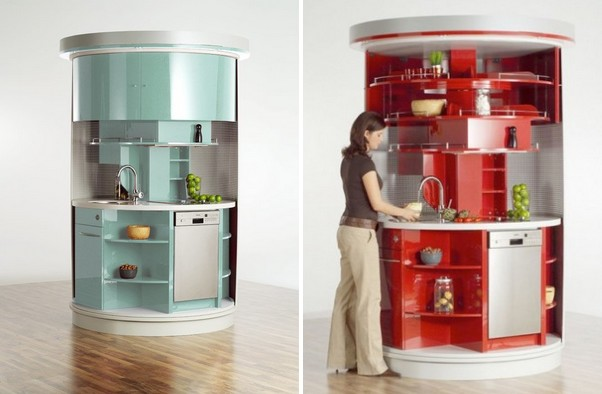 Cozinha Moderna Super Pequena