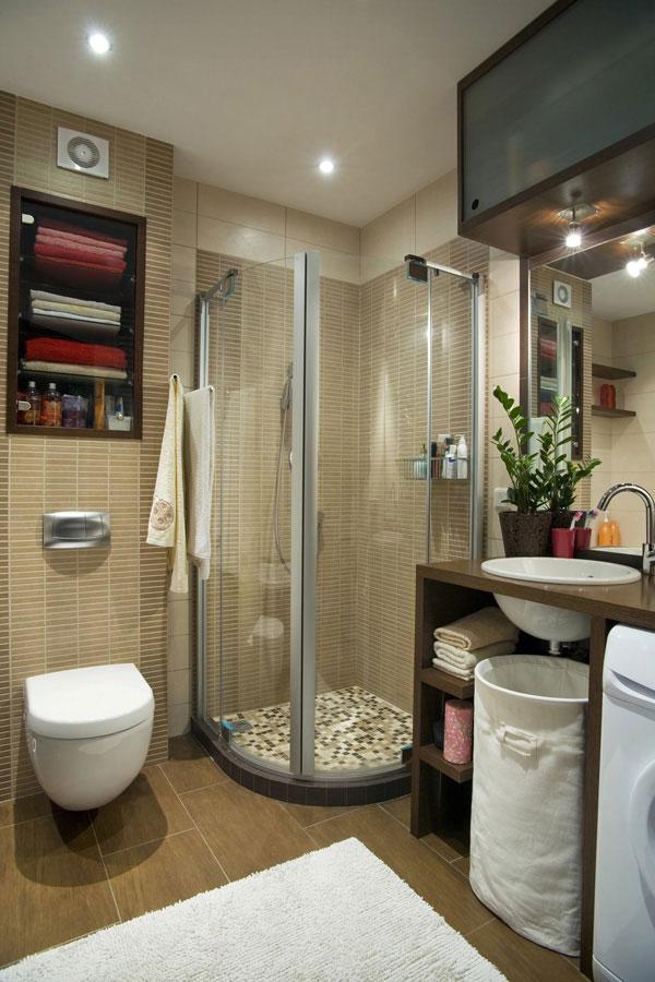 7 ideias e 42 fotos para decora o de banheiros pequenos for Banos completos pequenos modernos