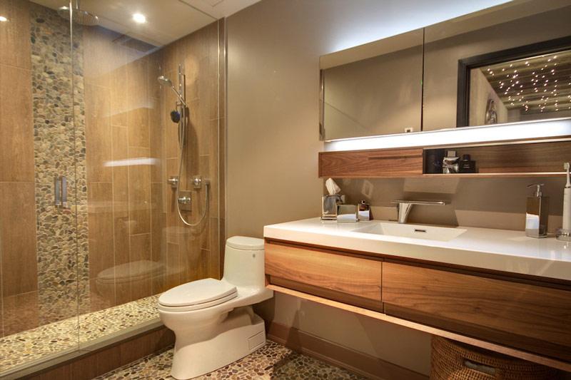 Decora o de banheiros 72 fotos de cair o queixo for Ideas para pisos pequenos fotos
