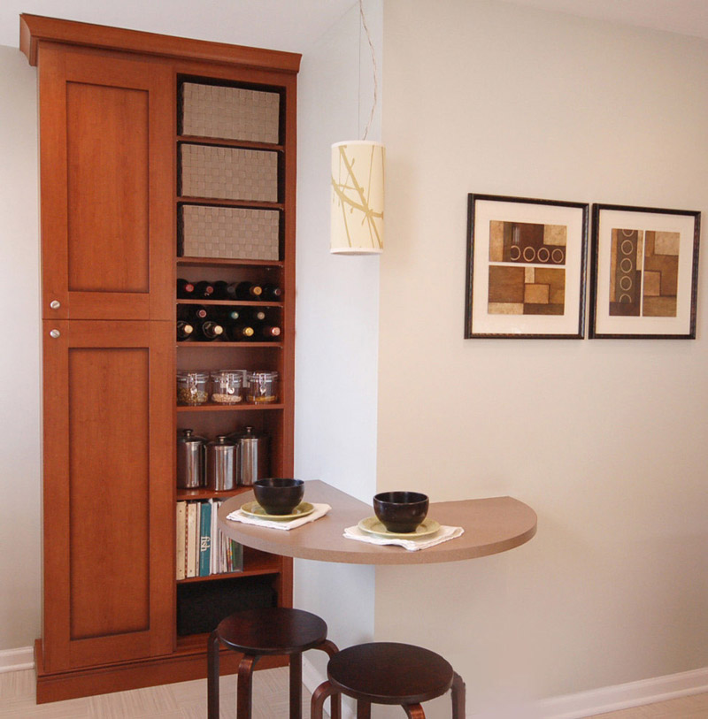5 dicas para organizar uma cozinha pequena 29 fotos for Armarios para cocina